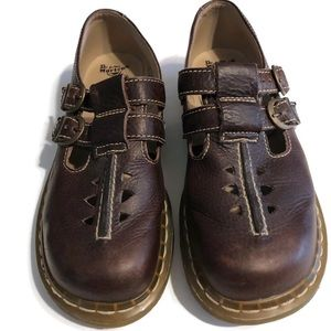 Dr Martins Womens Leather Shoes .. Sz 7